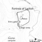 Plan of Lachish